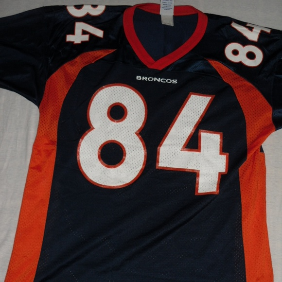 new product c16cf 7a350 Denver Broncos Champion Shannon Sharpe Jersey